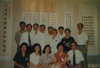 1993與一燈師聯展於高市文化中心