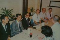 1991與日本神奈川全民書道會聯誼