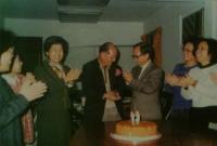 1992為詩學老師周植夫先生賀壽